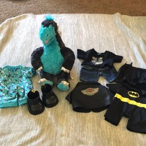 Build a bear dinosaur with accessories